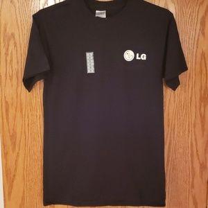 LG black cotton tshirt
